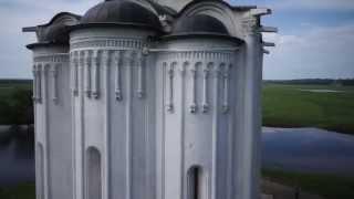 видео Боголюбово - храм Покрова-на-Нерли