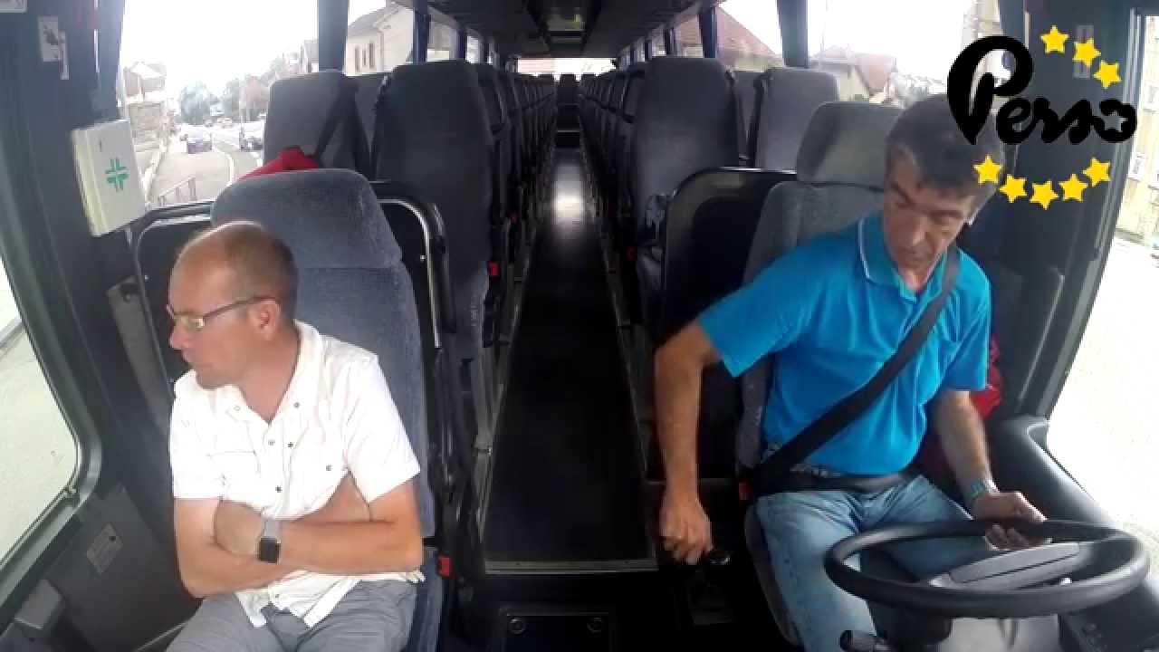 permis bus quoi s 39 attendre avec la conduite d 39 un car auto cole youtube. Black Bedroom Furniture Sets. Home Design Ideas