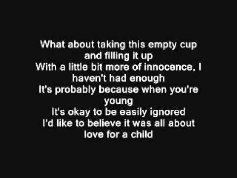 Jason Mraz - Love For a Child Lyrics