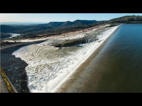 LIVE STREAM: Oroville Failure Dam - earlier footage Оровилл разрушение дамбы - ранее кадры