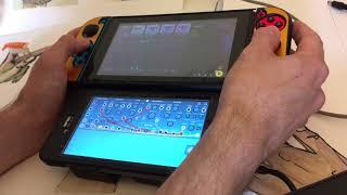 Korg Gadget on Nintendo Switch w/ Ripple Maker for iOS (semi-modular virtual synth)