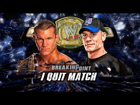 John Cena vs Randy Orton Highlights - Breaking Point 2009