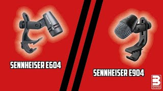 COMPARISON | Sennheiser E604 vs Sennheiser E904 on Toms