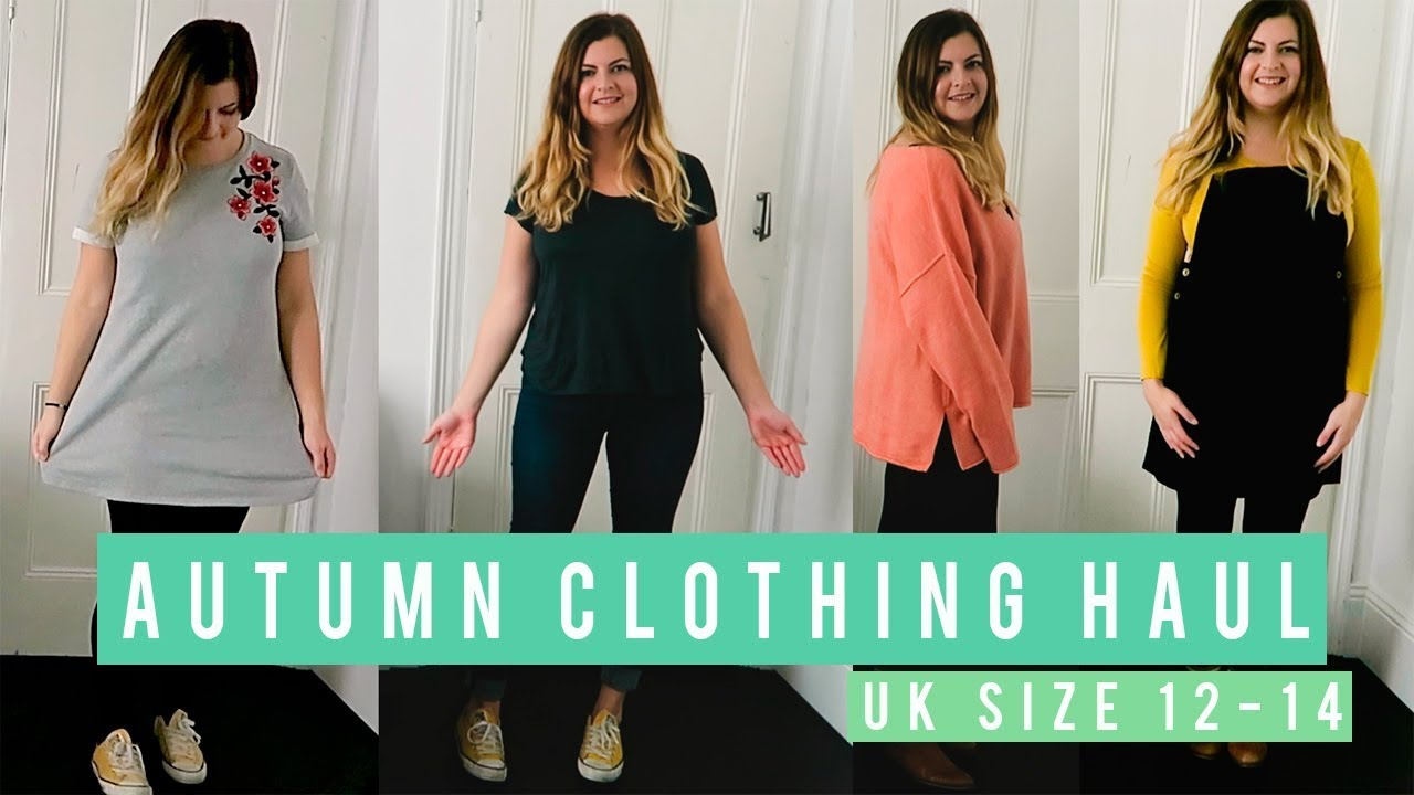 0c230dd8f AUTUMN CLOTHING HAUL AND TRY ON