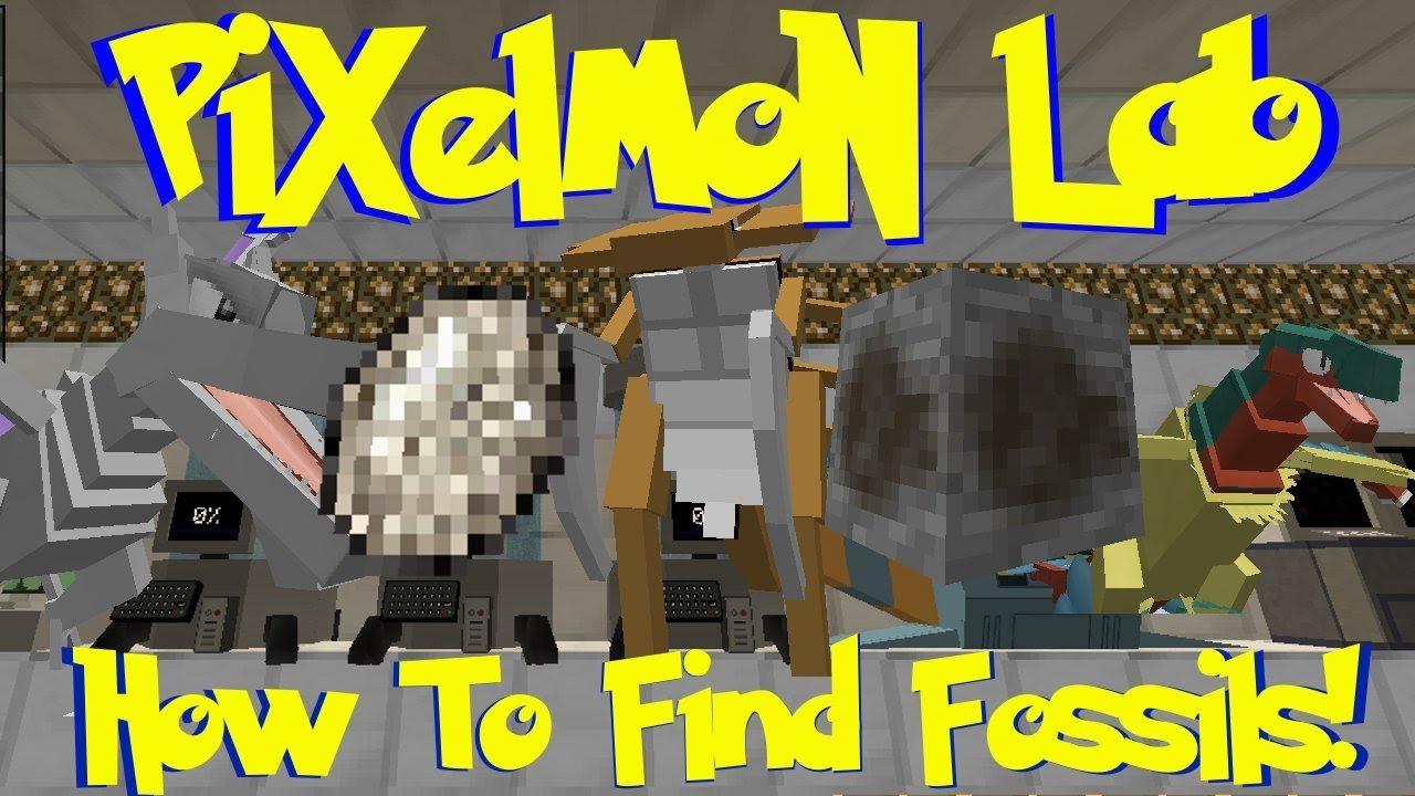 pixelmon fossil