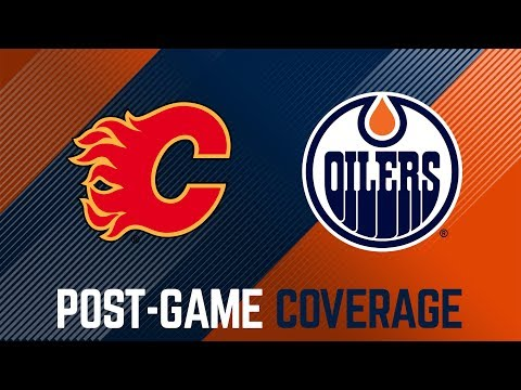 ARCHIVE | Oilers Post-Game Interviews at Calgary