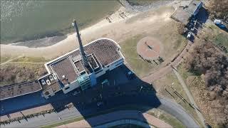 Westlandse drone pier Hoek van Holland