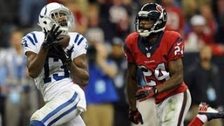 TY Hilton Three Touchdowns Against Houston || Colts at Texans Week 9 2013