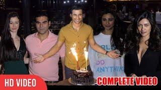 Freddy Daruwala 35th Birthday Bash | COMPLETE VIDEO | Arbaaz Khan, Giorgia Andriani, Riya Sen, Daisy