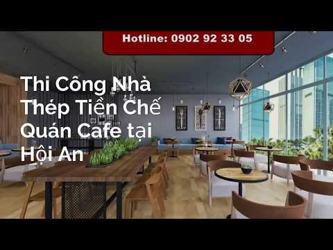 báo giá thi công nội thất quán cafe