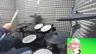「逆様ブリッジ」を叩いてみた〈Drum cover〉/荒川アンダーザブリッジED【スネオヘアー】