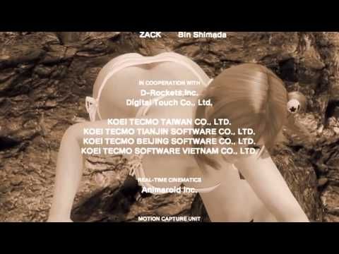 Dead Or Alive Xtreme 3 Credits + Song MP3