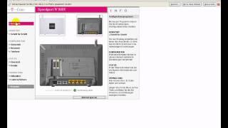 Portfreigabe T-online Router