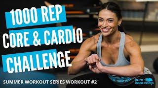 FAT BLASTING HIIT CHALLENGE   No Equipment Cardio & Core Workout