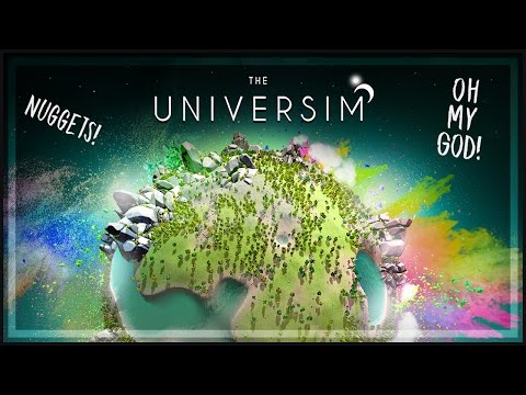 The Universim Gameplay: God Game - Spore meets Civilization