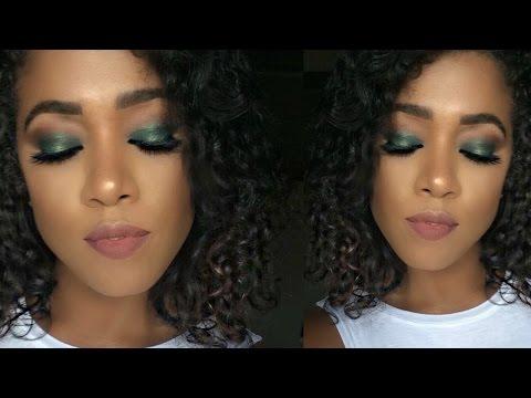 Tutorial De Maquillaje  -Look Verde Oscuro ( Dramatic GREEN)