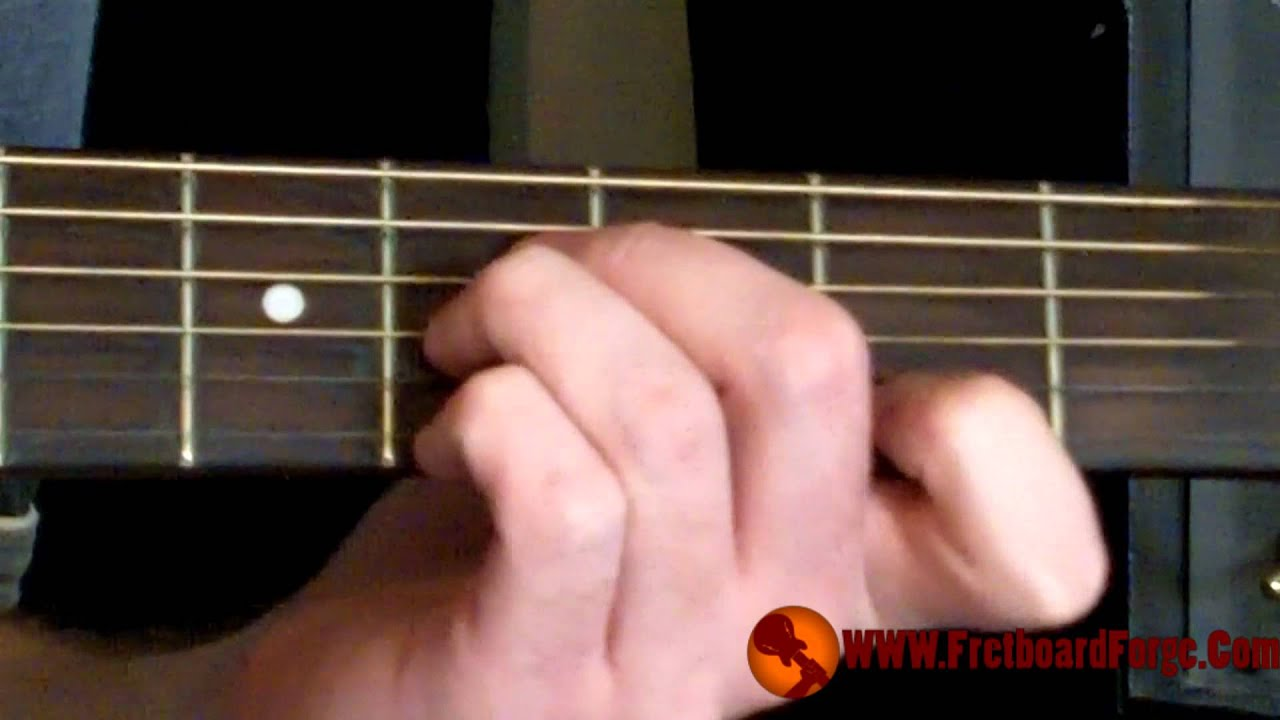 Basic Open B Chord Youtube