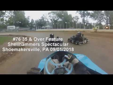 Shellhammers Spectacular 35 & Over Feature 09/01/2018