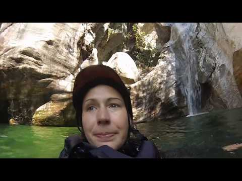 Canyoning adventure in the Italian part of Switzerland