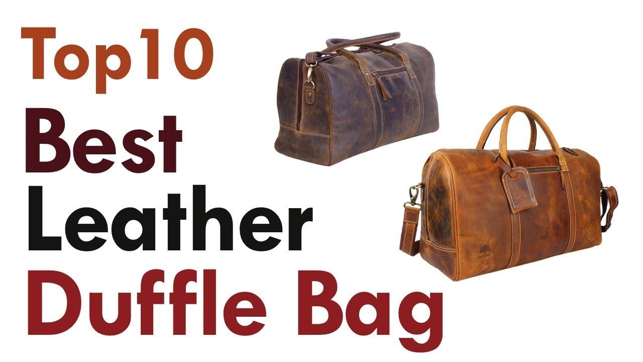 6c1960fc7 Best Leather Duffle Bag 2019 || Top10 Best Mens Weekend Bag Reviews ...