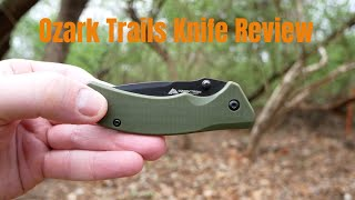 Ozark Trail EDC Pocket Knife Review Cheap But Nice