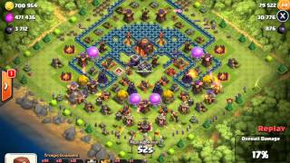 Clash of Clans | GoArch | Attack by Shamel vs Clay...