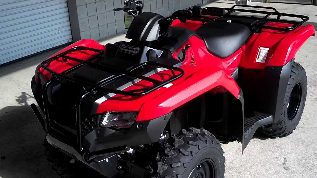 2014 rancher 420 atv sale honda of chattanooga tn trx420fm1e prices too low to advertise youtube