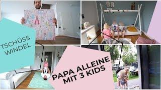 Papa Vlog | Pauline ist trocken! | Geschenk zur Belohnung | Isabeau