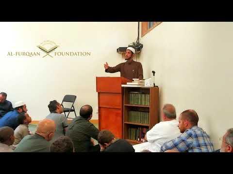 Furqaan Academy Alumni giving Khutbah   Furqaan Academy