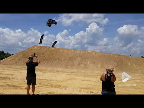 Massive record jump ends in rough landing || Viral Video UK