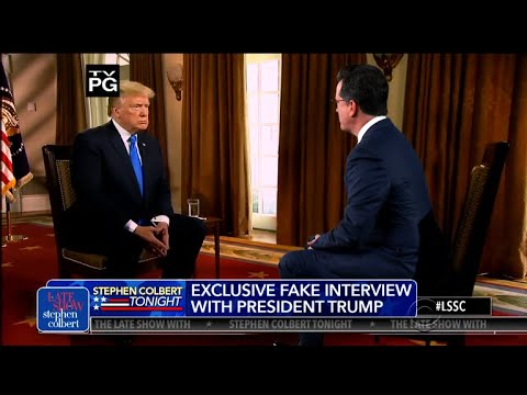 Stephen's Interview Of Lou Dobb's Interview Of Trump
