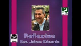 Não é por acaso -  Hebreus 11.3 - Rev. Jaime Eduardo