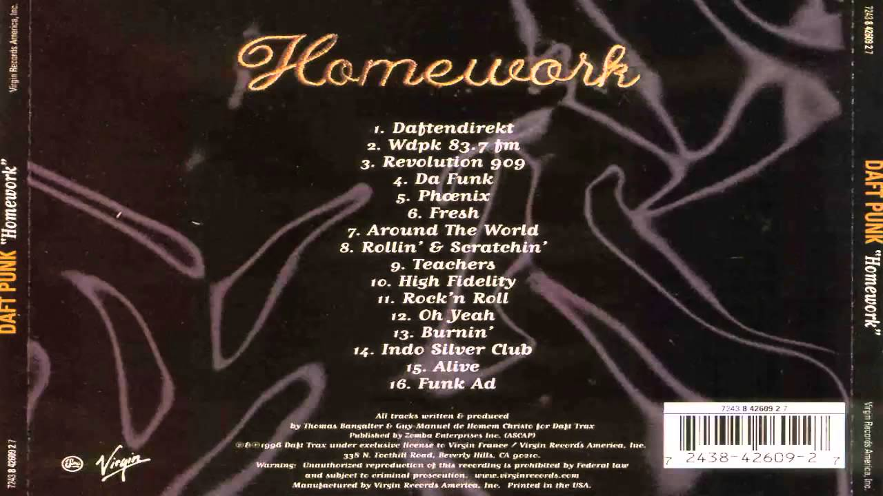 Homework full album