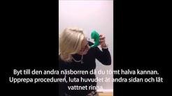 Allergia-, iho- ja astmaliitto: Nenäkannun käyttö / Näskanna
