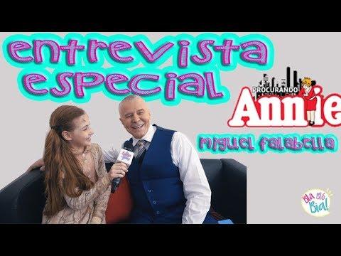 Bastidores de Annie o Musical com Miguel Falabella, Cleto Baccic e Ingrid Guimarães - vídeo 5