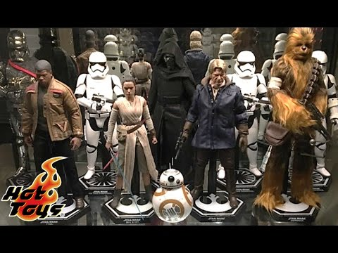 Collection Spotlight Hot Toys Star Wars Figures The Force Awakens