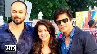 Watch Shah Rukh & Kajol shooting for 'Dilwale'