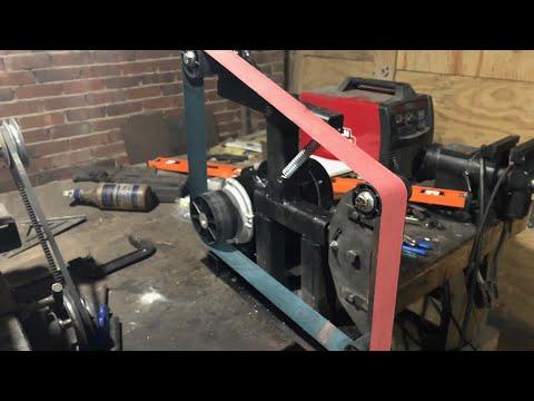 Building a simple 2x72 belt grinder