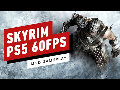 Simple Mod Let's You Play Skyrim on PS5 at 60FPS