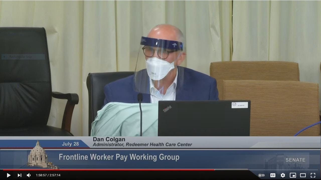 Download Discussions Begin on Determining Bonus Pay for Frontline Workers