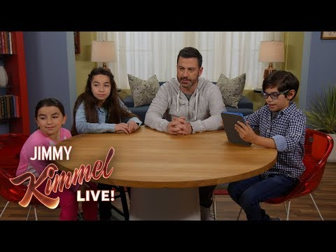 Kids Teach Jimmy Kimmel About ASMR