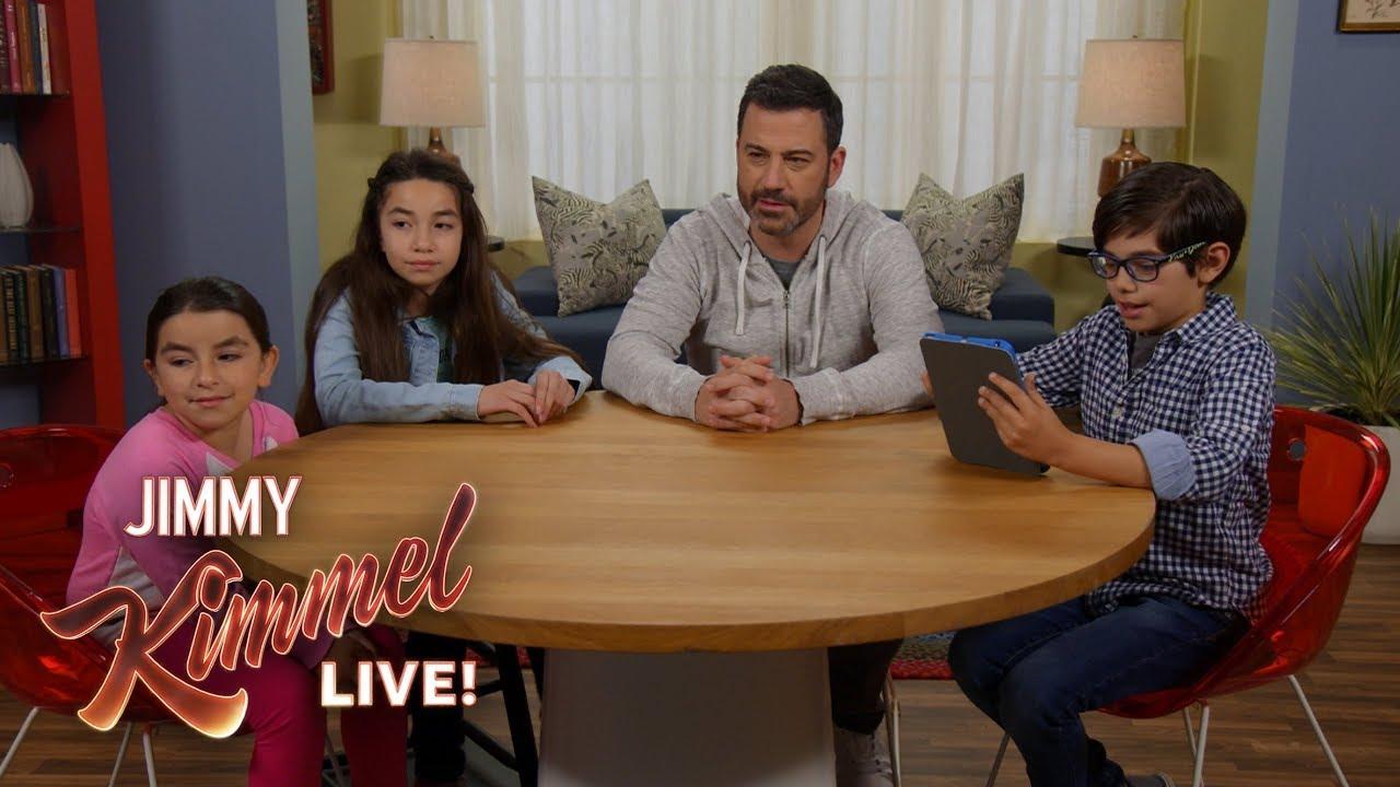 Kids Teach Jimmy Kimmel About ASMR - YouTube