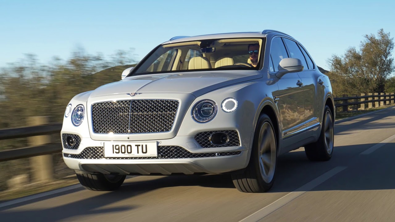 2019 Bentley Bentayga Hybrid Video Debut