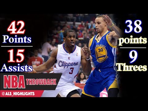 Steph Curry and Chris Paul have an insane duel