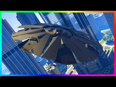 FLYABLE ZANCUDO UFO & ALIEN SPACESHIP INTERIOR IN GTA 5! (GTA V MODS)
