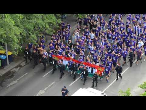 Újpest vonul 2018.05.23.