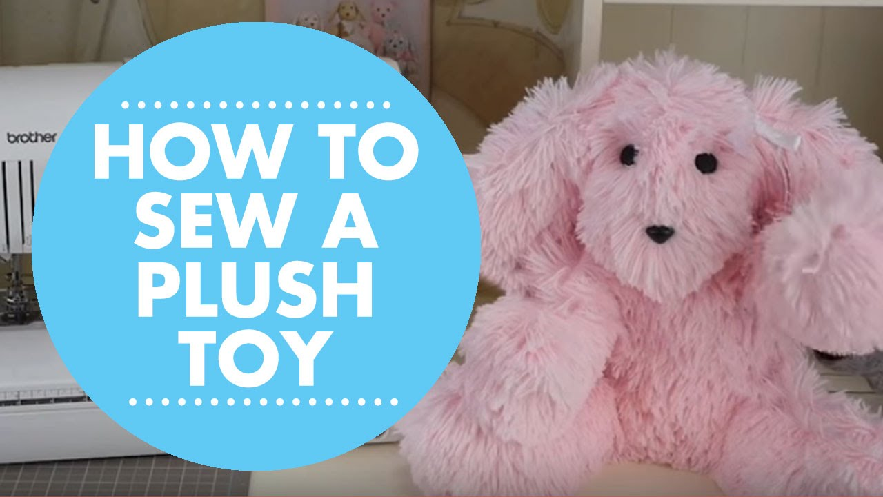 Diy Plush Toy With Simplicity Pattern 8044 Youtube