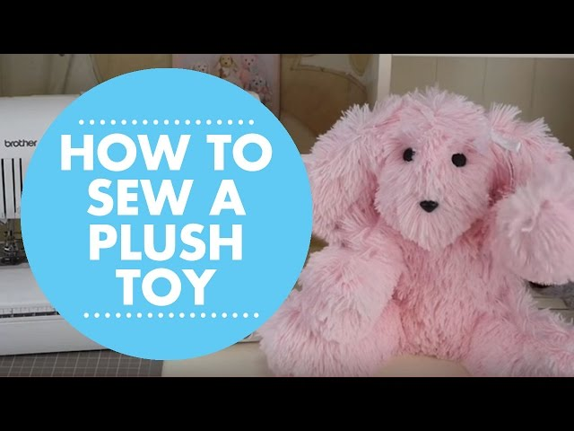 DIY Plush Toy with Simplicity Pattern 8044
