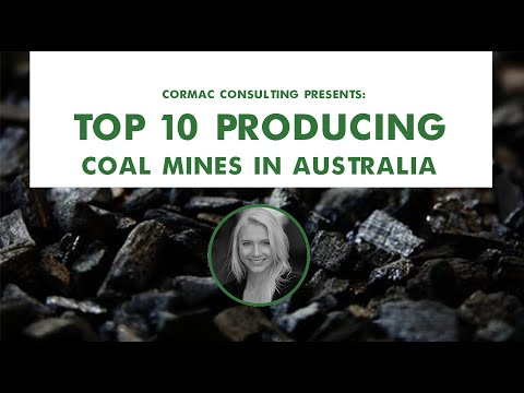 The Top 10 Producing Coal Mines In Australia