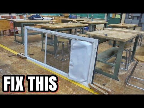 How To Fix a Broken Panel In a Screen Door